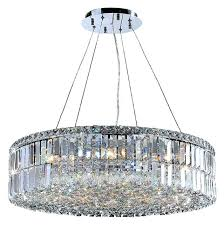 crystal chandelier chrome luciana 12 light chandelier costco 12