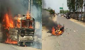 Image result for images of saharanpur me hui hinsa