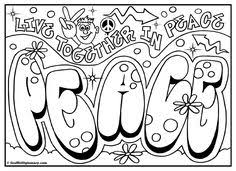 Small Picture graffiti coloring page free printable graffiti room signs Free