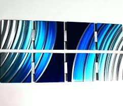 blue metal wall decor blue metal wall decor blue starlight modern abstract metal wall art sculpture