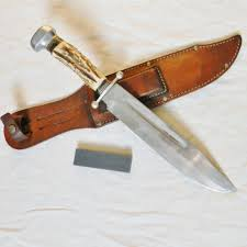 solingen germany anton wingen large othello stag hunting bowie