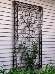 collection in garden wall decor wrought iron images about metal wall art on metal art