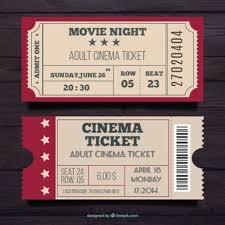 Free Tiket Cinema Ticket Vectors Photos And Psd Files Free Download