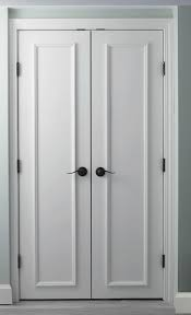 slab doors with trim