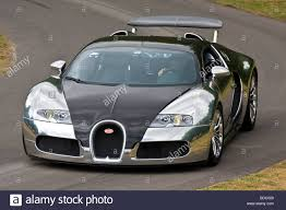 2009 Bugatti Veyron Pur Sang on the hillclimb at the Goodwood ...