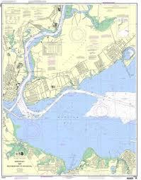 Noaa Nautical Chart 12331 Raritan Bay And Southern Part Of