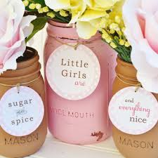 Sugar And Spice And Everything Nice That By Adlyowlinvitations Sugar And Spice Baby Shower Favors