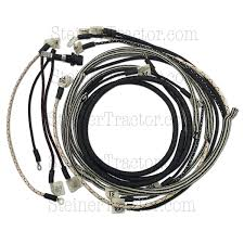 wiring harness kit conversion for 12 volt 1 wire mini alternator utv winch wiring kit at 12 Volt Wiring Harness Kit