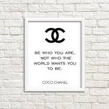 Chanel Quotes Impressive Success Motivation Work Quotes Chanel Wall Art Coco Chanel Quotes