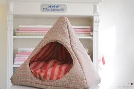 diy cat tent bed via mohntage com