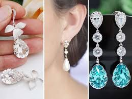 earring for bridal jewelry