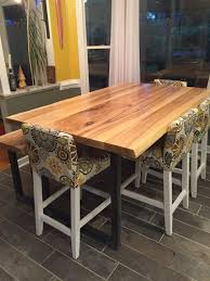 rustic gray dining table. Live Edge Ash Dining Table And Bench Set By Merican Rustic! Rustic Gray