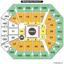 Mohegan Sun Arena Wilkes Barre Seating Chart With Rows Seating Chart Mohegan Sun Arena Uncasville Ct Www