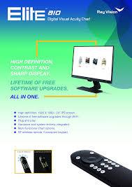 Amazon Com Elite Aio Digital Visual Acuity Vision Optics