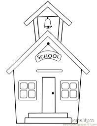 Small Picture School Colouring Pages FunyColoring