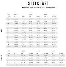 Men And Women Size Chart Mystic Sizechart Surfpm