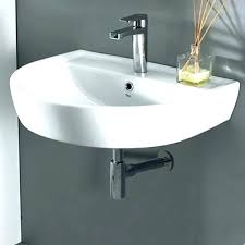 commercial bathroom sinks. Commercial Wall Mount Sink Restroom Sinks Compliant Bathroom Round White Ceramic Mounted .