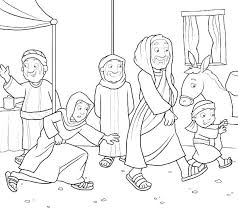 Parable Of The Talents Coloring Page Doersite