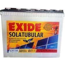 Exide Solar Battery 150ah C10 Rate 5 Year Warranty
