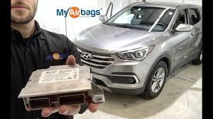 Hyundai Santa Fe Air Bag Light Hyundai Santa Fe Airbag Srs Module Location Reset Myairbags Com
