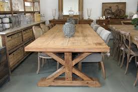 12 Seat Outdoor Dining Table Farmhouse 12 Seater Table Vintage Etc