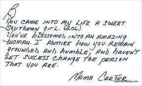 beyonce letter mama carter jay z mother
