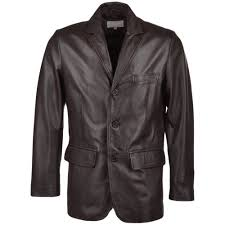 performance and quality make best ride and comfortable drive 100 leather pure finishing details mens leather blazer