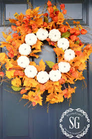 Fall Wreath 26 Easy Diy Fall Wreaths Best Homemade Wreaths For Fall