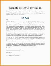 Format For Invitation 24 Invitation Letter Format Thistulsa 4