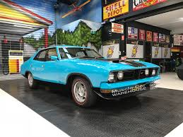 Ford Falcon Xb Gt Aqua Blue Muscle Cars For Sale Muscle