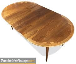 circle to oval mid century lane acclaim table