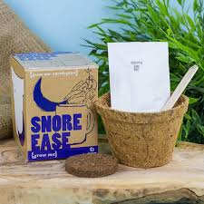 grow me snore ease from prezzybox unique garden gifts