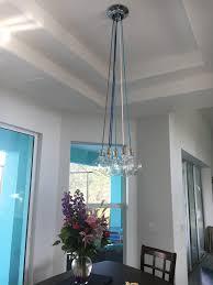 kitchen glass pendant lighting. Glass Pendant Lights For Kitchen \u2013 Attractive Lighting Fixtures Ceiling Elegant 7 Light Cluster