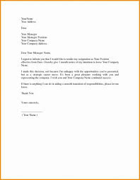 2 Weeks Notice Template Beauteous Resignation Letter Sample Free Download Business Format For Best Of