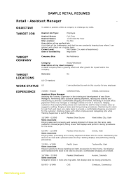 Retail Sales Associate Job Duties For Resume New Resume For A Retail
