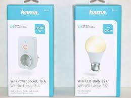 Erfahrungsbericht Zu Hama Wifi Led Lampe Und Wifi Steckdose