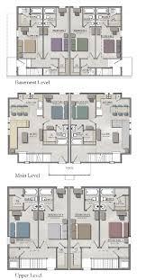 unusual ideas 5 bedroom house plans with bat duplex w
