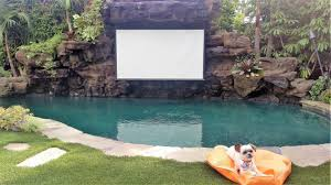 June 2016 Update: The swimming pool, spa and outside movie screen was  completed last month & here's a video of David's dog, Wicket, enjoying the  finished ...