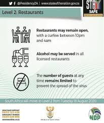 Phase two of vaccination programme now open to 60+. Sa Enters Level 2 Of The Lockdown News24