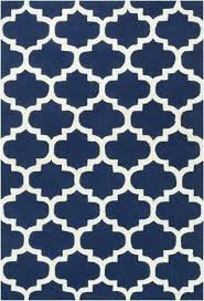 blue trellis rug classic trellis rug in navy blue and cream yarn and loom rugs blue trellis rug uk