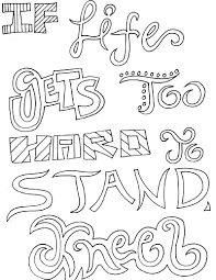 Small Picture Inspirational Quotes Coloring Pages For Adults httpprocoloring