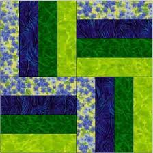 Best 25+ Quilt patterns free ideas on Pinterest | Quilting ideas ... & Rail Fence - different arrangement of 4 strips :Rail Fence strip of each of  four colors per block: Adamdwight.com