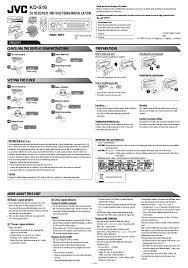 search jvc jvc kd kdg401 user manuals manualsonline com jvc kd s16
