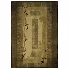 allen roth holder green indoor nature area rug common 8 x throughout