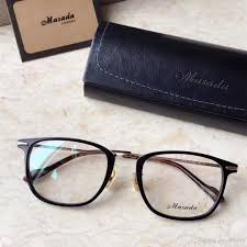 2019 new eyeglasses frame 2018 spectacle frame eyeglasses for men women myopia brand designer glasses frame clear lens with original box from mcy929108
