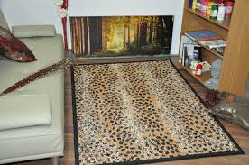 home interior great leopard print rug com brown checd cheetah animal rectangle from leopard