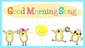 good morning song for kids with s