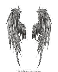 значение тату с крыльями ангела эскизы 120 фото