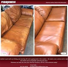 leather couch dye re your leather furniture with this leather couch had a gaping hole in