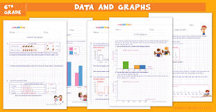 data and graphs worksheets for grade 6
